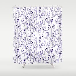 Zombie nation Shower Curtain