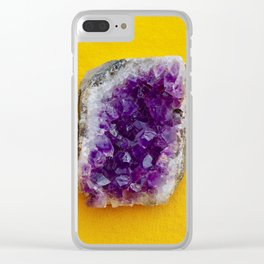 Amethyst Clear iPhone Case