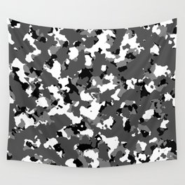Winter Ice Camo Wall Tapestry