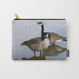Pair of Canada Geese Carry-All Pouch