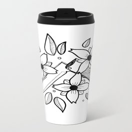 KNIFE AND FLOWERS Travel Mug