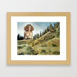 That Funky Field Framed Art Print