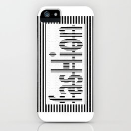 Fashion B and W iPhone Case
