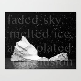 Icecapped Canvas Print