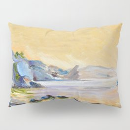 Lonely sailer Pillow Sham