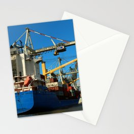 Container Ship Stationery Cards