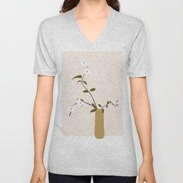 Flowers in the Vase Unisex V-Neck