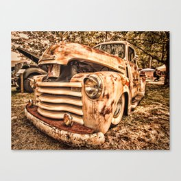 Old pickup ( Photo by Antal Ullmann ) Canvas Print