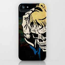 Dead All the While iPhone Case