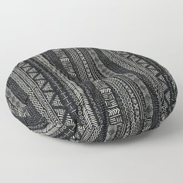 Mud Cloth Stripe Floor Pillow