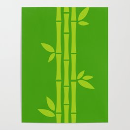 Evergreen Chinese Bamboos Poster