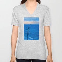 Beacons Tree Unisex V-Neck