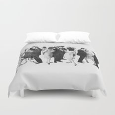 the cold war Duvet Cover