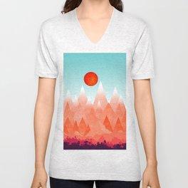 Nature on Fire Unisex V-Neck
