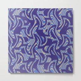 Abstract 123 G Metal Print