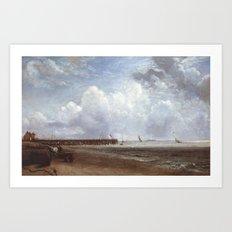 John Constable 1776–1837   Yarmouth Jetty Art Print
