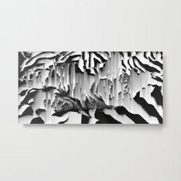 Honey I Pixel Sorted The Cat Metal Print