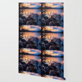 Glorious Sacramento River Sunset Wallpaper
