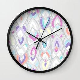 PINKLEAVES Wall Clock