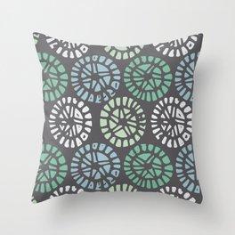 Neptune Anemone Throw Pillow
