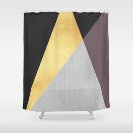Golden line IX Shower Curtain