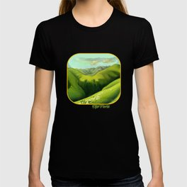 Mustering at the End of the Farm T-shirt