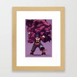 Cena Framed Art Print