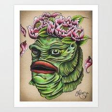 Queen of the Swamp Art Print