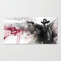 justice Canvas Prints featuring Justice by Steve Goad