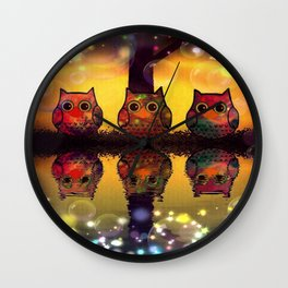 owl-110 Wall Clock