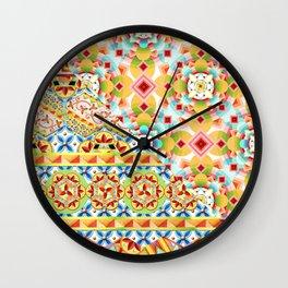 Groovy Gypsy Circus Wall Clock