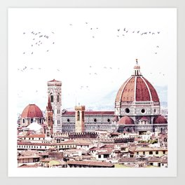 Brunelleschi's masterpiece Kunstdrucke