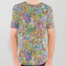 Creatures festival All Over Graphic Tee