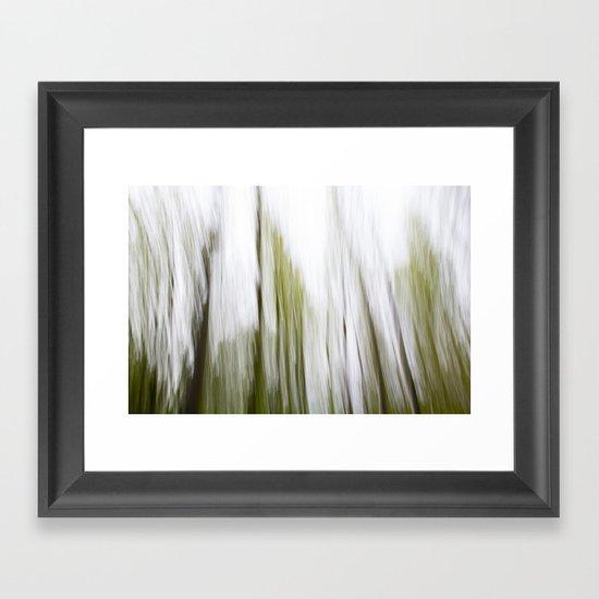 Tree Abstract Framed Art Print