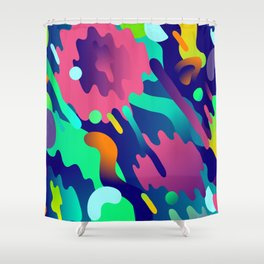 Splash Pattern Shower Curtain