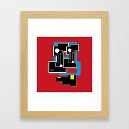 BiT (Original Characters Art by AKIRA) Framed Art Print