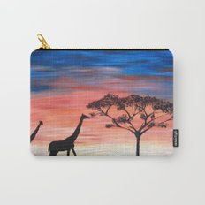 Africa Series - Seeking Shelter Before the Storm Carry-All Pouch