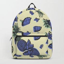 Trendy ultraviolet pineapple Backpack