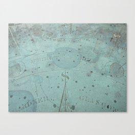 South Canvas Print