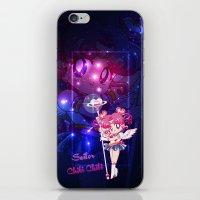 chibi iPhone & iPod Skins featuring Sailor Chibi Chibi Moon by Neo Crystal Tokyo