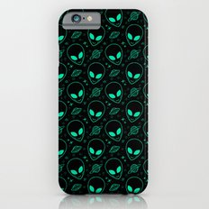 Alien and UFO Pattern Slim Case iPhone 6