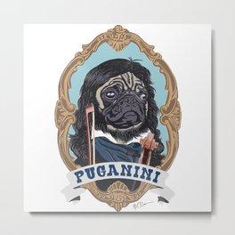 Puganini Metal Print