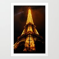 La Tour d'Eiffel Art Print