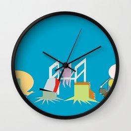 Minimal Squidbillies Wall Clock