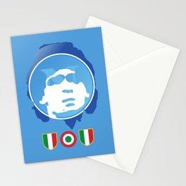 SSC Napoli Maradona Stationery Cards