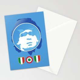 SSC Napoli Maradona Stationery Cards