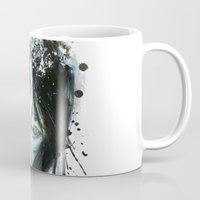 jay fleck Mugs featuring Blue Jay by Chelsea Brouillette