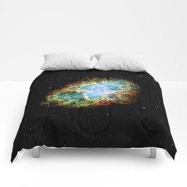 The Crab Nebula Supernova remnant Comforters