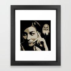 Juxtapose XII Framed Art Print