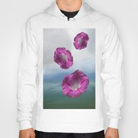 free shipping Hoodies featuring Flowers from heaven - Free shipping! by Ordiraptus
